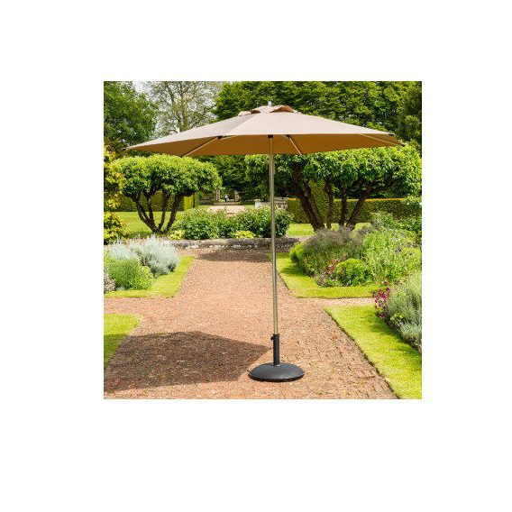 Garden Must Haves 27M King Taupe Parasol