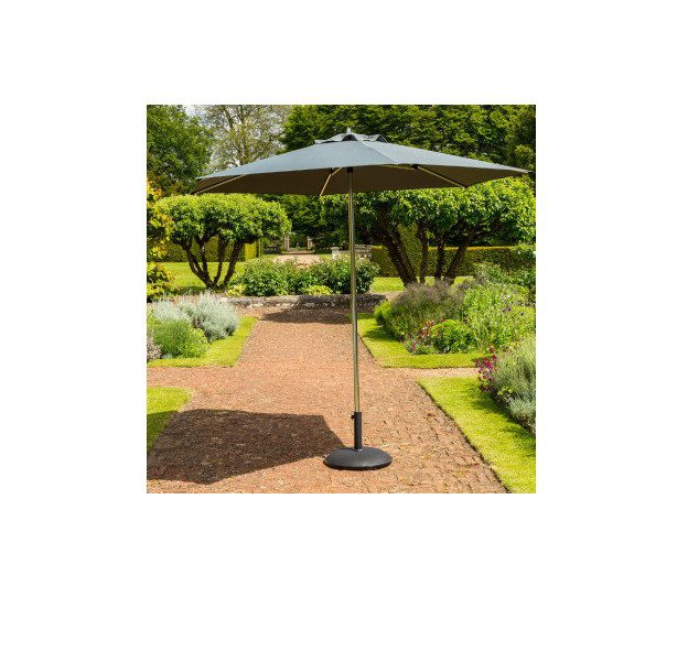 Garden Must Haves 27M King Grey Parasol