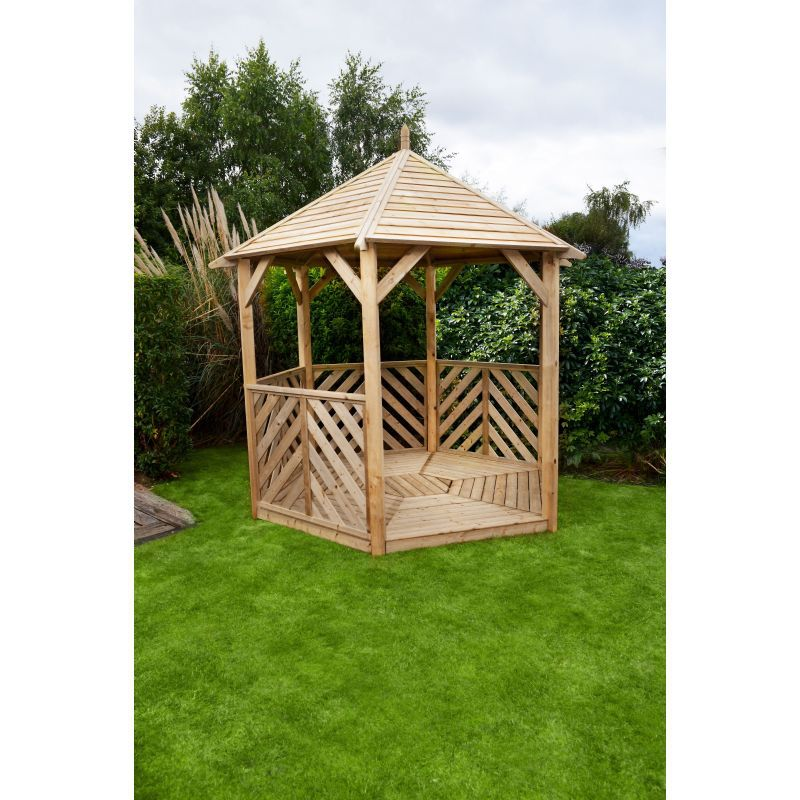 0 327 9371045 Sandringham Gazebo Open Side