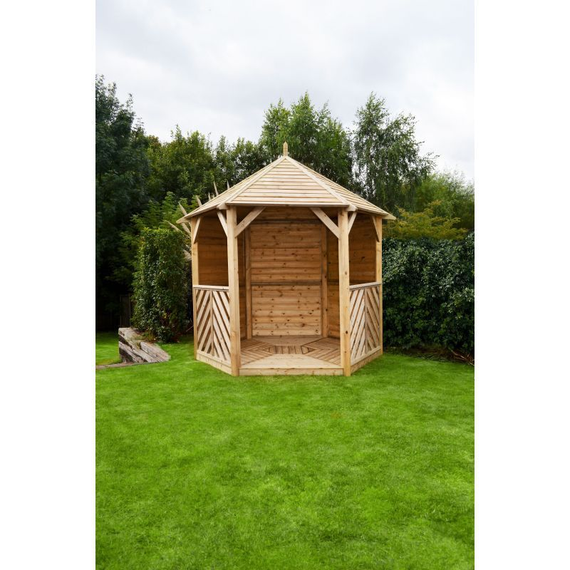 0 327 9371047 Sandringham Gazebo Solid Side