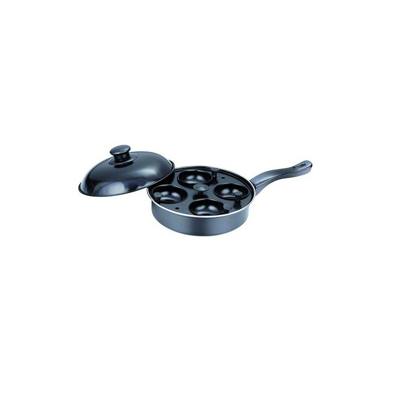 Quest 20Cm Non Stick 4 Cup Egg Poacher