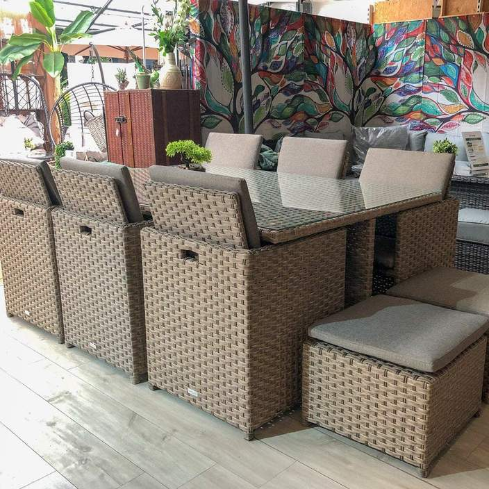 Norcamp 6 Seater Cube Set