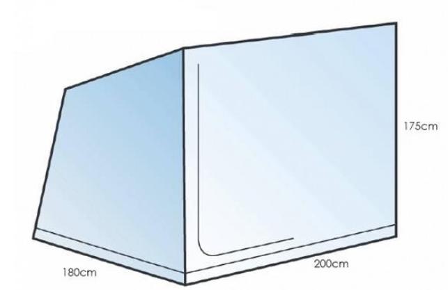 Sunncamp 3 Berth Caravan Awning Inner Tent - IT0003