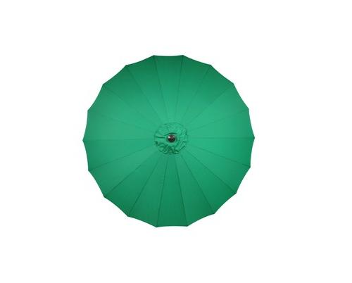 Camelot Aluminium Singapore 2.7m Parasol Summer Emerald - CAM0662