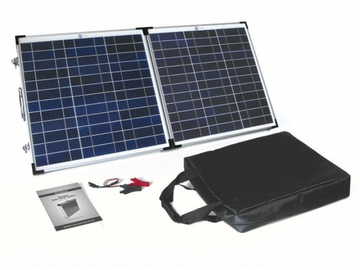 Solar Technology PV Logic 60wp Fold Up Solar Panel - STFP60