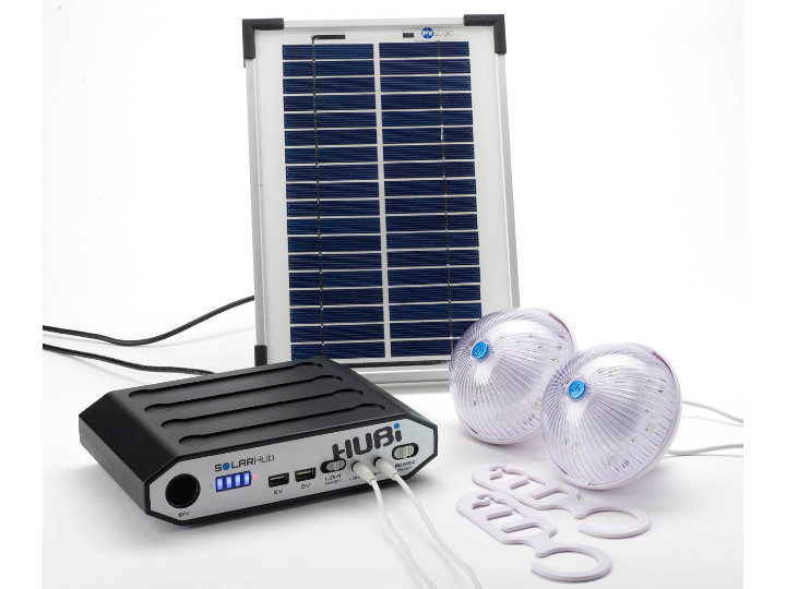 HUBI SolarHub2K - Lighting and Power System - HUBI102A