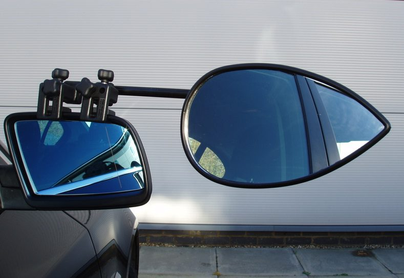 Milenco Aero 2 Flat Towing Mirror