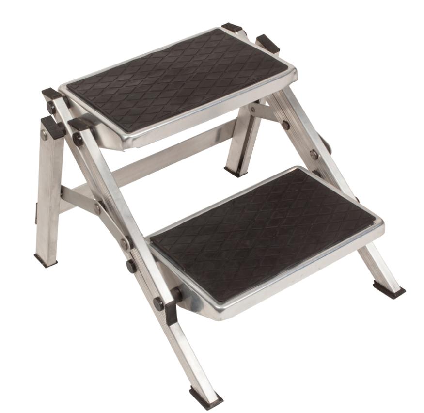 Kampa Aluminium Folding Double Step Caravan Steps