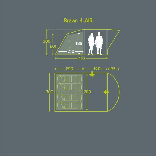 Tent Floor Plan Brean 4 Air