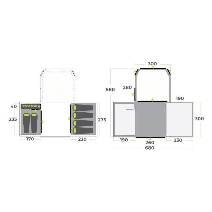 Aerodome Ii Pro Floor Plan