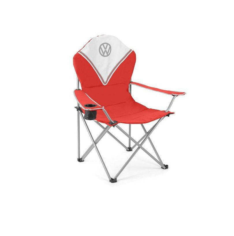 Vw Deluxe Padded Chair Red