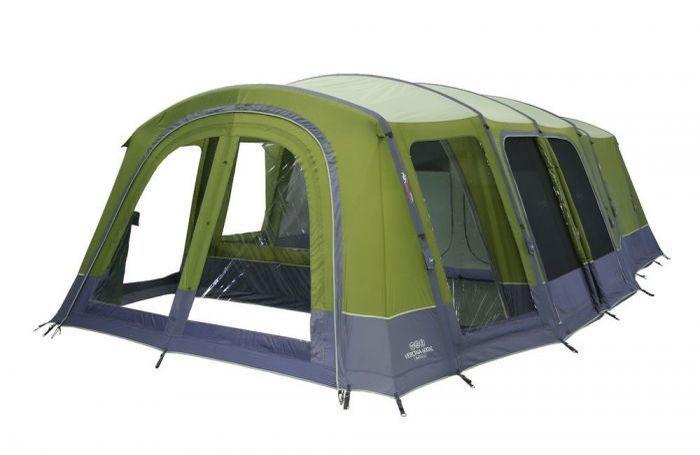 Vango 2018 Tents Airbeam Excel Verona 600Xl Herbal Low