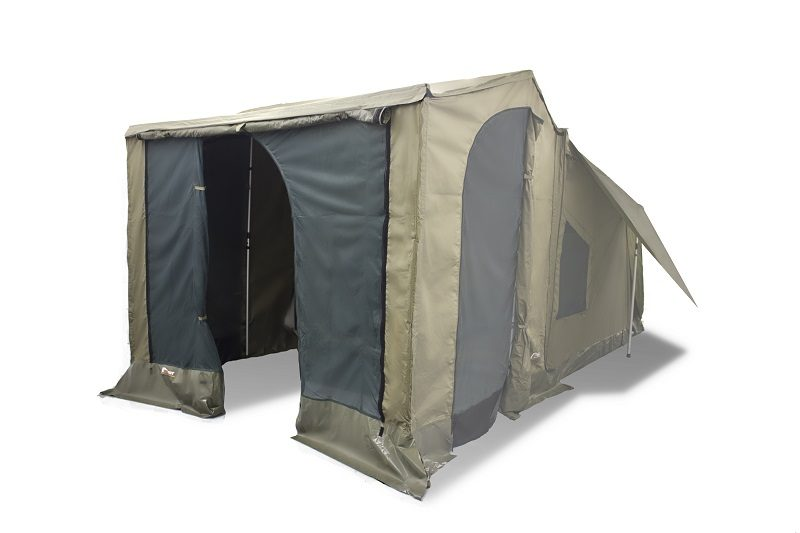 Oztent Front Panel