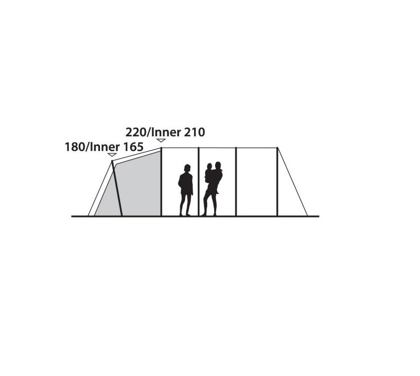 110903 Outwell Woodburg 6A Air Tent 3
