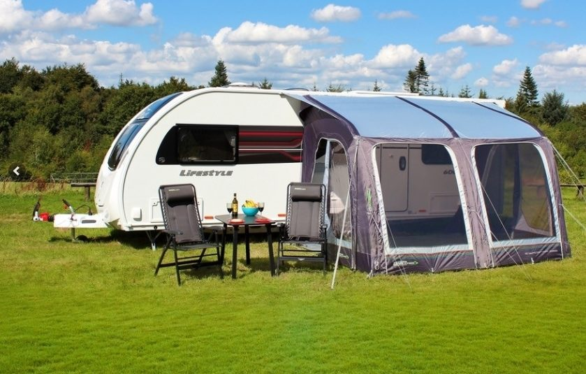 Outdoor Revolution E Sport Pole 325 Caravan Porch Awning