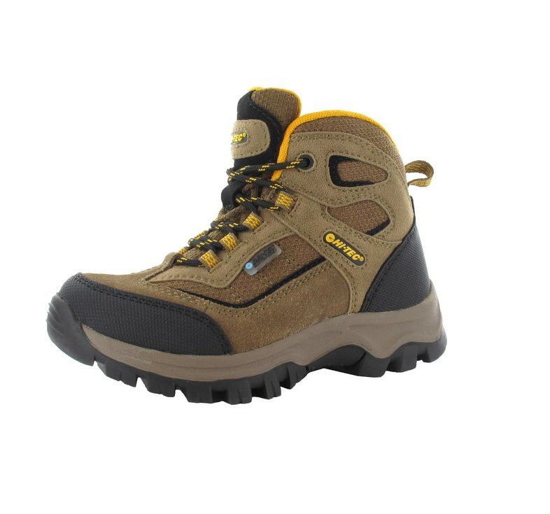 Hi-Tec Hillside Junior Boot Brown and Gold