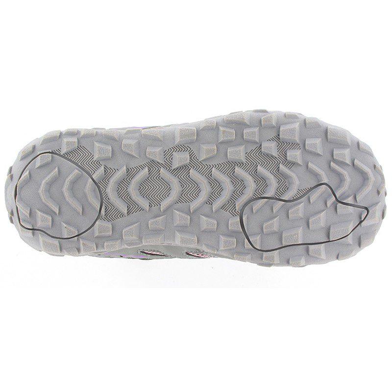 Hi-Tec Meridian Low Waterproof Junior Multisport Shoe in Steel Grey, Horizon & Orchid