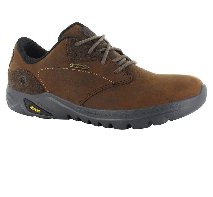 Hi-Tec Witton Men's Waterproof Walking Shoe - Dark Chocolate