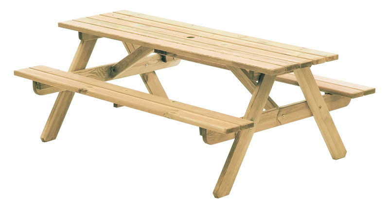 Alexander Rose Contract Heavy Duty 6ft Picnic Table - 316c