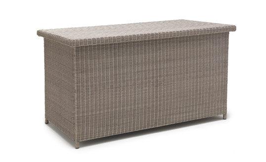 Kettler Large Cushion Box - White Wash