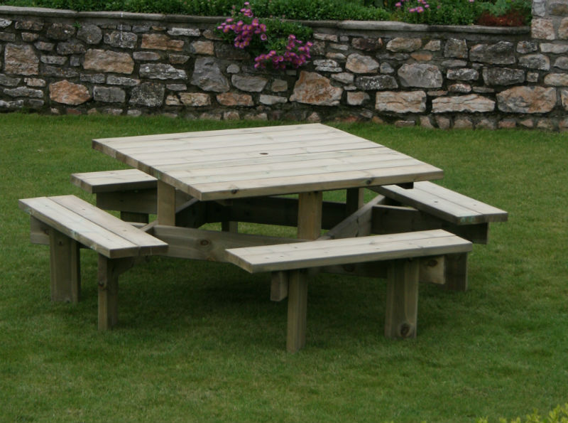 Norcamp Garden Furniture Norwich Camping : norcamp dartmoor commercial square picnic table from www.norwichcamping.co.uk size 800 x 595 jpeg 91kB