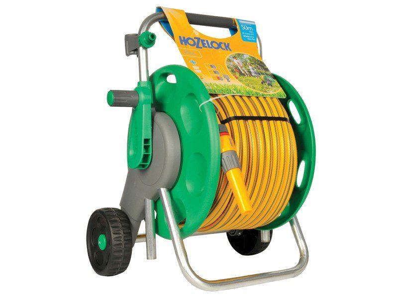 Hozelock Plus 60m Assembled Hose Cart with 50m hose (2435)