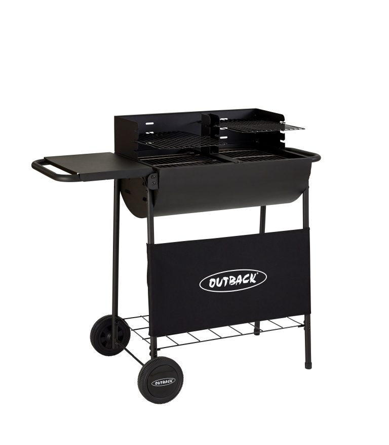 Outback Half Drum Charcoal BBQ 2016