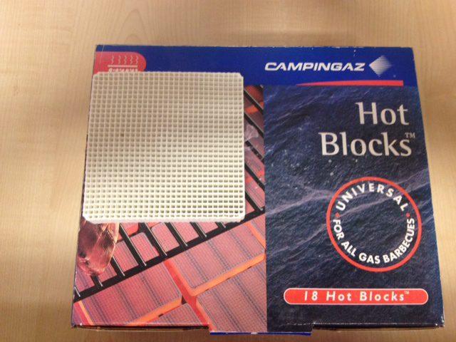 Campingaz Hot Blocks - Pack of 18