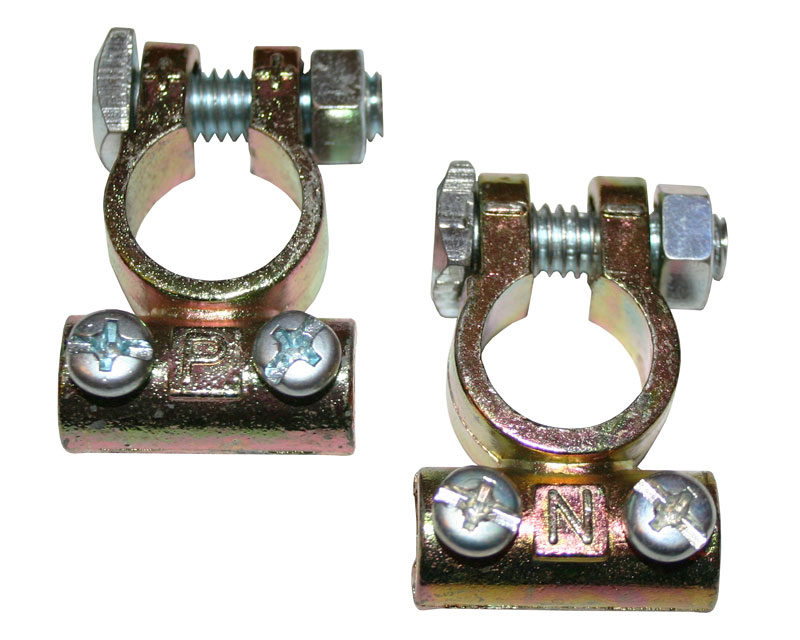 Pair of Universal Battery Lead Terminals