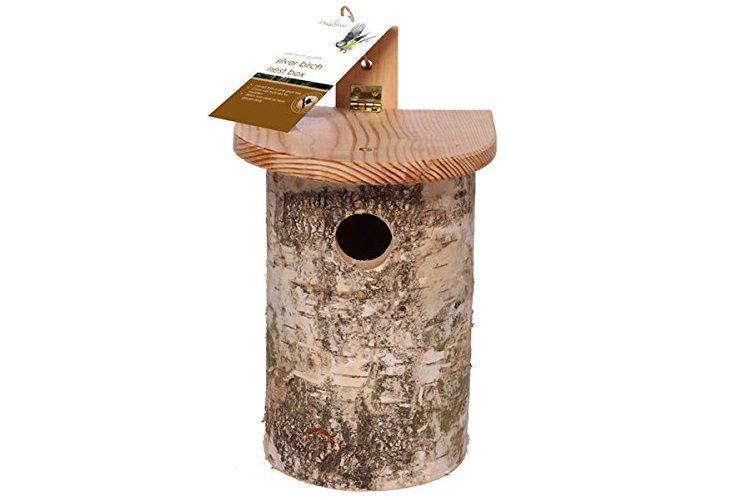 Chapelwood Silver Birch bird box