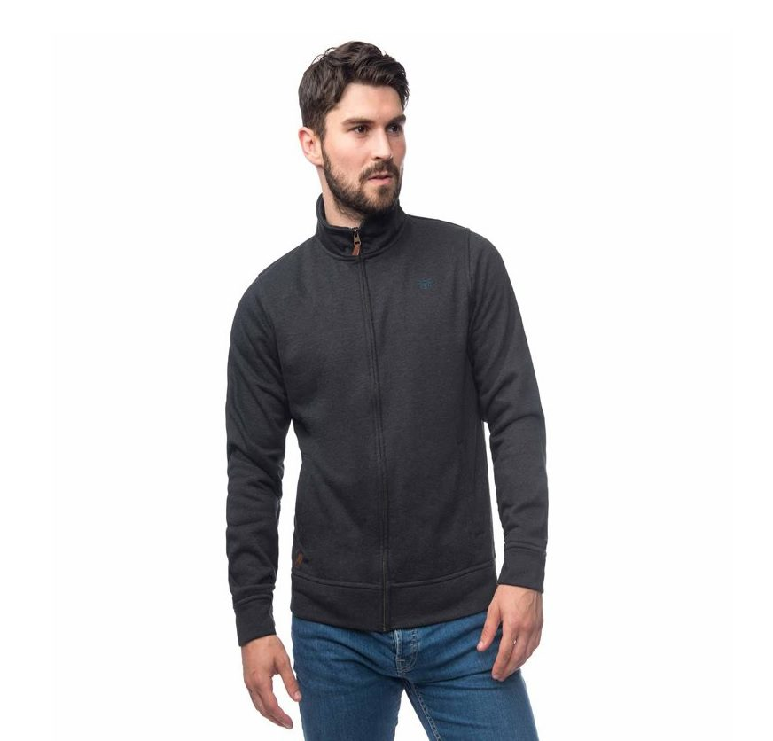 Lighthouse cove fleece charcoal marl
