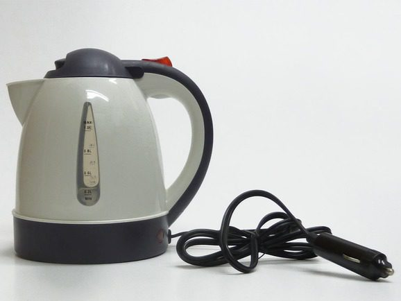 Sunncamp travel kettle