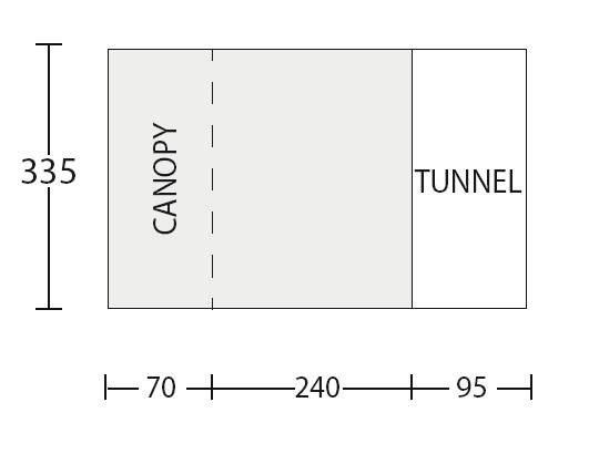 sunncamp tourer 335 floor plan