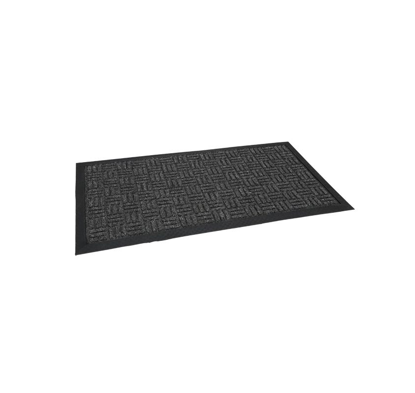 Quest firth tile rubber door mat