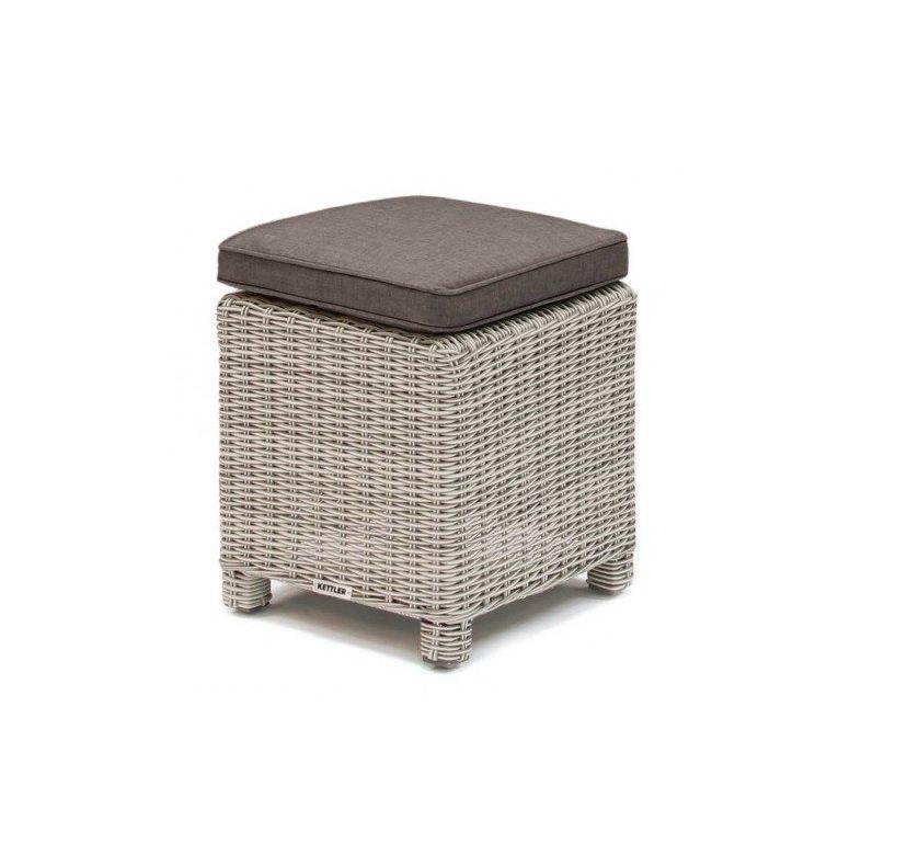 Kettler Palma stool - white wash