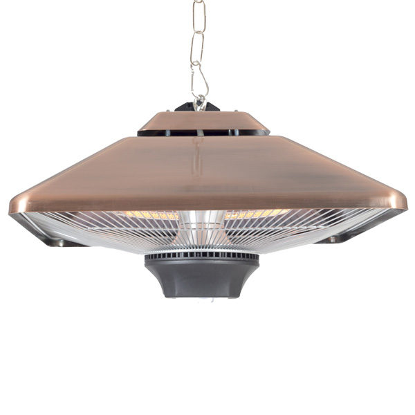 La Hacienda Copper Hanging Heater