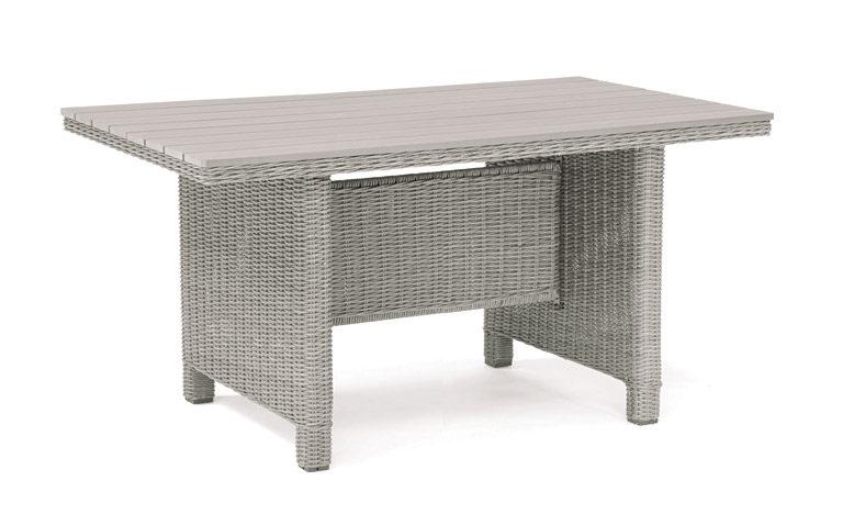 Kettler Palma Mini Polywood Table Whitewash