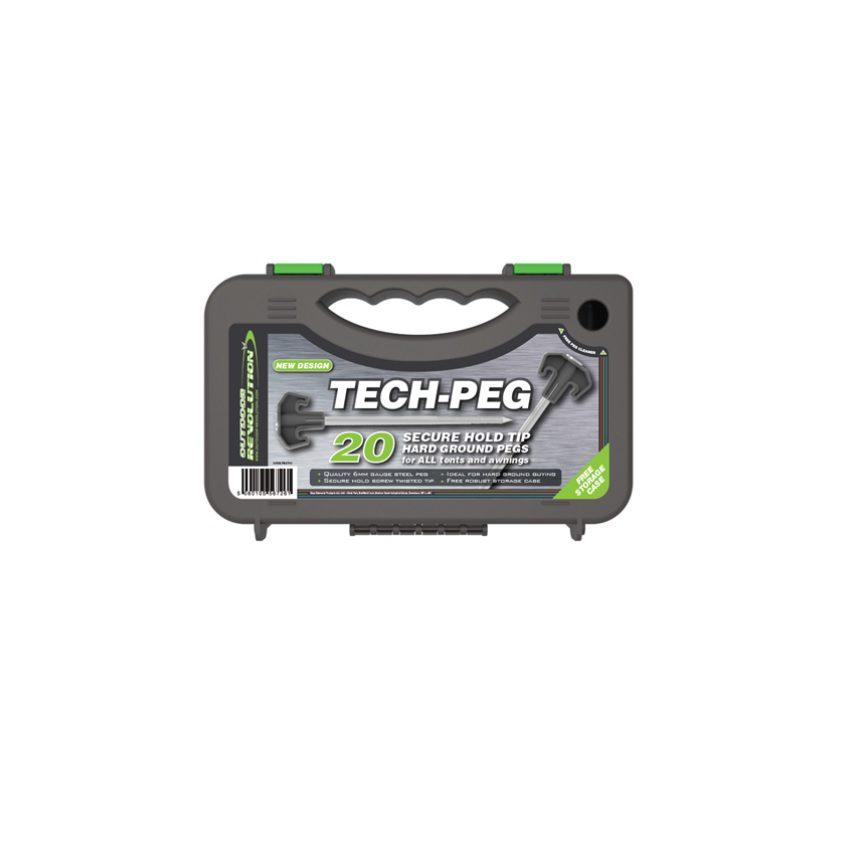 Outdoor Revolution Tech Pegs x 20