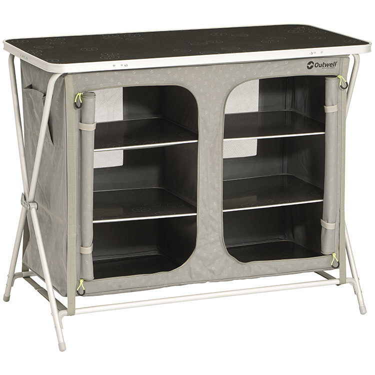 Outwell Aruba Camping Cupboard with Table Top