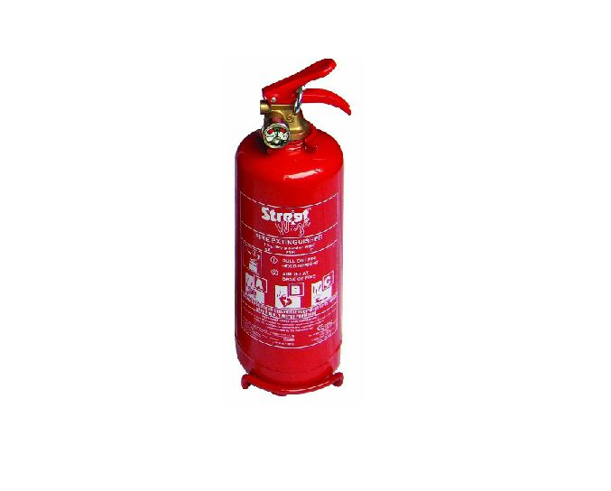 Streetwize Fire 1kg ABC Extinguisher With Guage