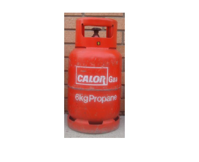 6KG Propane Gas Cylinder - Refill