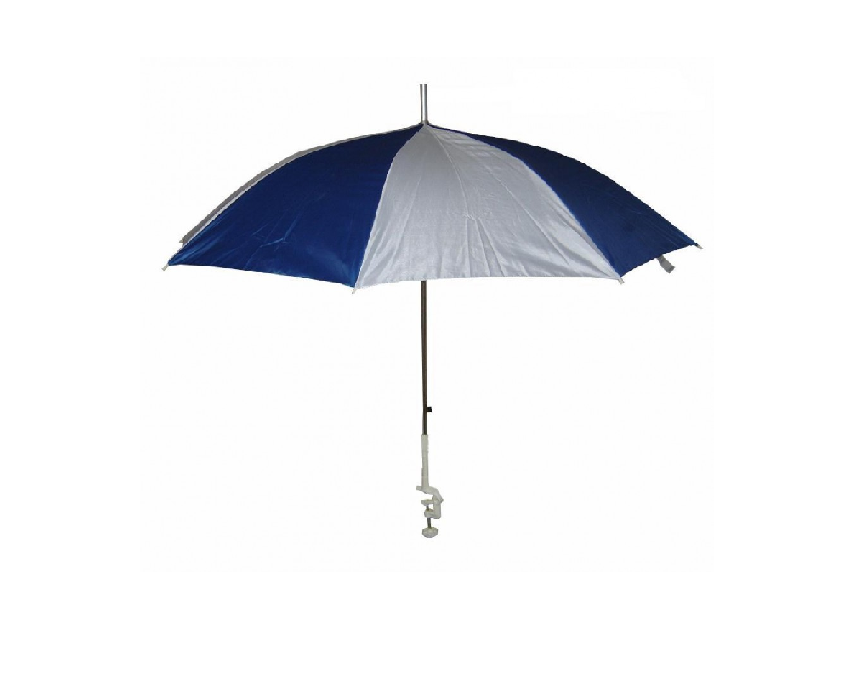 Sunncamp Clamp-on Parasol - Blue
