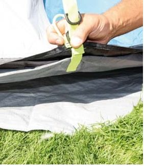 Sunncamp Enterprise 800 Tent Footprint Groundsheet