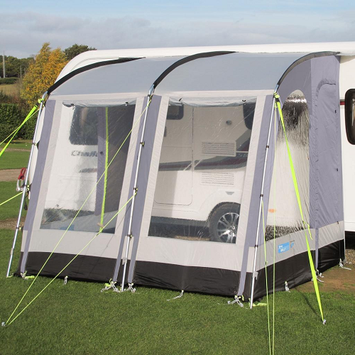 Kampa Rally 260 Porch Awning Pearl Grey 2016 - CE740312