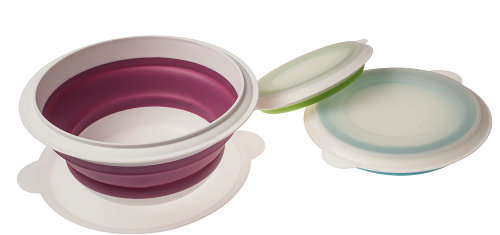 Kampa Compact Collapsible Bowl Set - CW0056