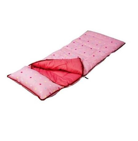 Sunncamp Pink Dotty Sleeping Bag - SB1113