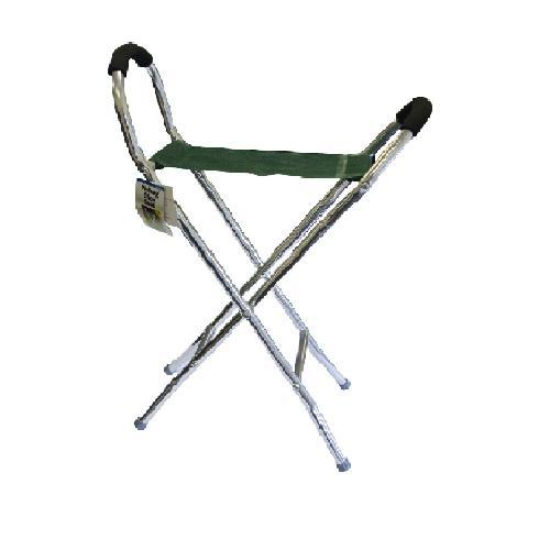 leisurewize lightweight folding alloy walking hiking shooting stick