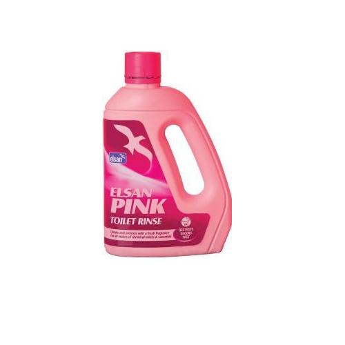 Elsan Pink Toilet Rinse 2L