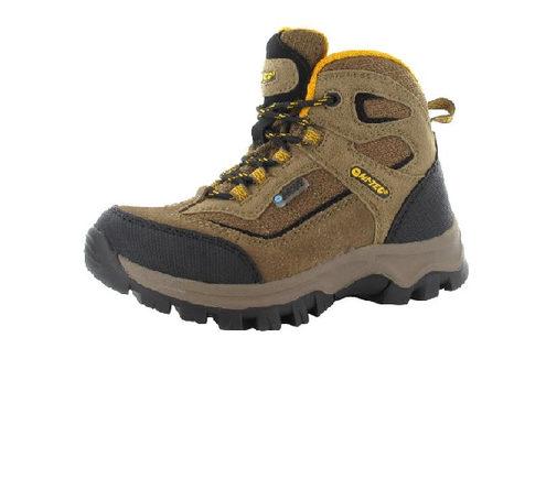Hi-Tec Hillside Junior Boot Brown and Gold