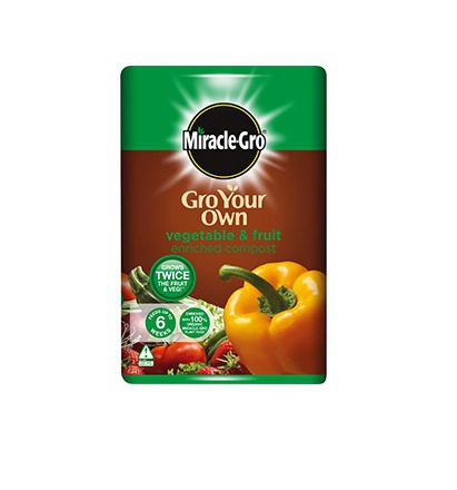 Miracle-Gro Gro Your Own Vegetable & Fruit Enriched Compost